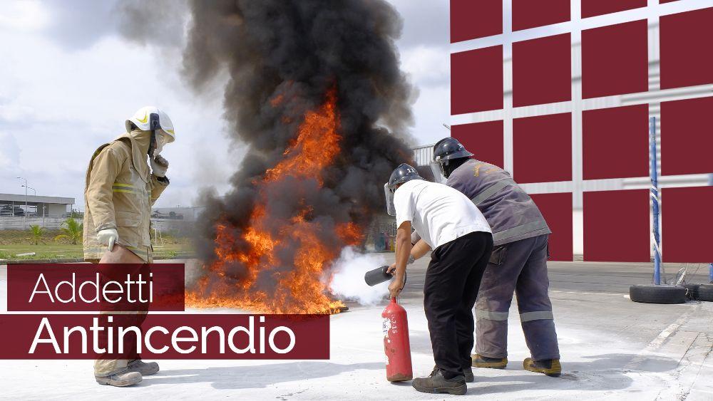 antincendio addestramento