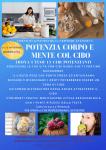 Potenziamento di corpo e mente col cibo – Trova i tuoi 15 cibi potenzianti (Milano 16-17 novembre, Treviso 23-24 novembre)