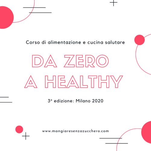 da zero a healthy milano 2020