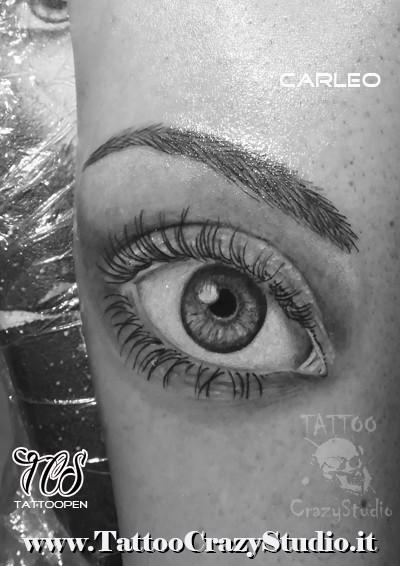 occhio realistico