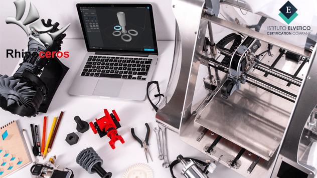 CORSO IN DESIGN INDUSTRIALE E INNOVAZIONE CON MODELLAZIONE 3D CERTIFICATO RHINOCEROS