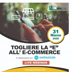 Togliere la e all'ecommerce
