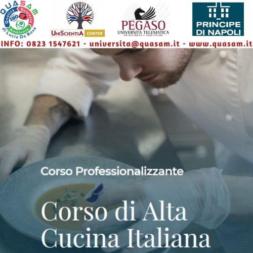 CORSO DI ALTA CUCINA ITALIANA