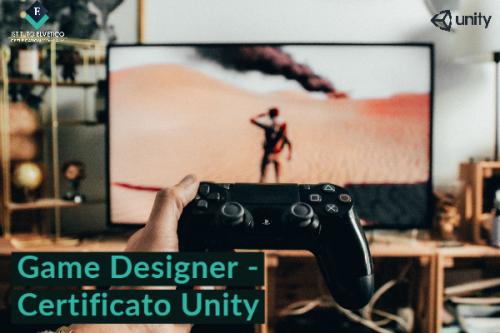 CORSO IN GAME DESIGNER con Certificazione UNITY 3D