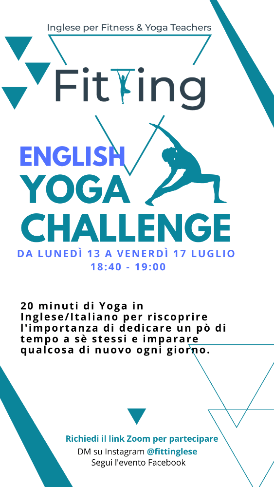 English Yoga Challenge, Perchè?