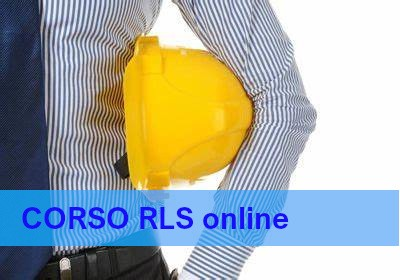 Corso RLS online