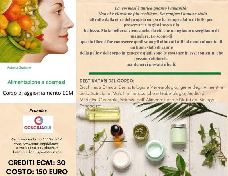 alimentazione e cosmesi