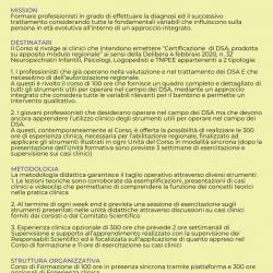 Poster Corso Superiore di Formazione alla Diagnosi e al Trattamento dei DSA 1